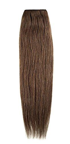 American Dream Remy 100% cheveux humains 35,6 cm soyeuse droite Trame Couleur 5B – Safari