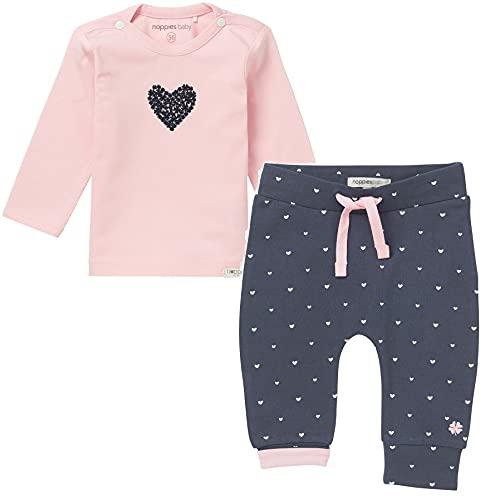 Noppies Baby süße Print Langarmshirt Nanno praktischen Druckknöpfen (2 Set 67369-092+67363-166, 62)