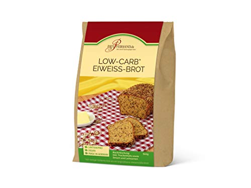 Backmischung Low-Carb Eiweiß-Brot 600g inkl. Saatenmischung und Hefe