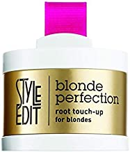 Style Edit Root Touch Up, to Cover Up Roots and Grays. Dark Blonde Hair Color.