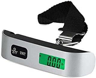 5 Core Luggage Scale Handheld Portable Electronic Digital Hanging Bag Weight Scales Travel 110 LBS 50 KG 5 Core LSS-004 ✔️...