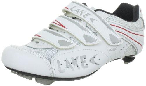 LAKE CX 160 070131, Unisex - Erwachsene Sportschuhe - Radsport, Weiss (weiß 100), EU 44
