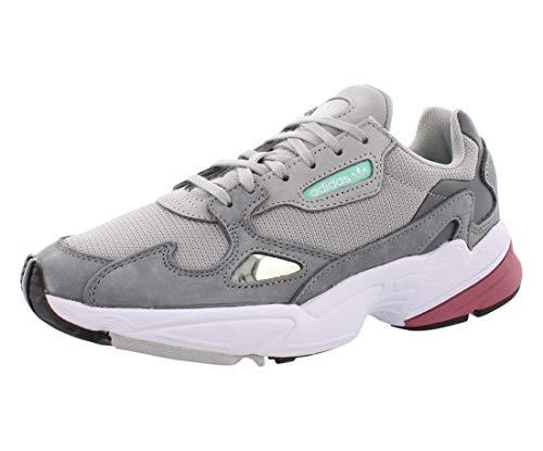 adidas Frauen Falcon Fashion Sneaker Grau Groesse 7.5 US /38.5 EU