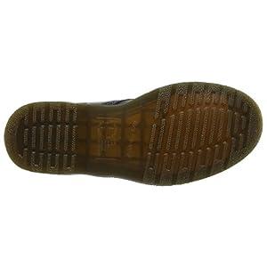 Dr. Martens 8053 5 Eye Padded Collar Shoe, Black Nappa, 8 UK/9 US Men/10 US Women