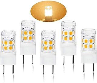 G8 LED Light Bulb 2.5 Watts Warm White - G8 Base Bi-pin Xenon JCD Type LED 120V 20W Halogen Replacement Bulb for Under Counter Kitchen Lighting, Under-Cabinet Light.Pack of 5 (Warm White)…