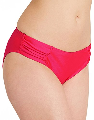 Lepel Holiday Sparkle Low Rise Bikini Brief Red - 18 (3XL)