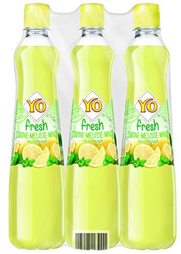 Yo Sirup Fresh Zitrone-Melisse-Minze, 6er Pack, PET (6 x 700 ml)