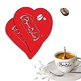 BOCCA DELLA VERITA - Mezcla de Azucares Italianos en forma de corazón rojo (azúcar blanco) y verde (azúcar moreno) 5 x Cajas de 1 Kg. (Azúcar blanco)