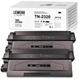 LEMERO SUPERX Tóner compatible para Brother DCP-L2520DW L2540DW L2500D L2540DN HL-L2320D L2340DW L2360DW L2380DW L2300D L2360DN L2365DW MFC-L2700DW L2720DW 740 DW(2 Negro)