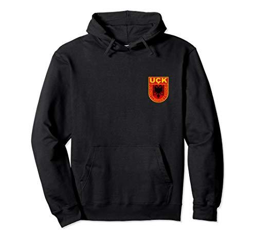 kosovarische Armee shirt logo Wappen albaner kosovo uqk uck Pullover Hoodie