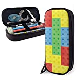 Colorfull Building Blocks Estuche para lápices Estuche para marcadores de bolígrafo de gran...