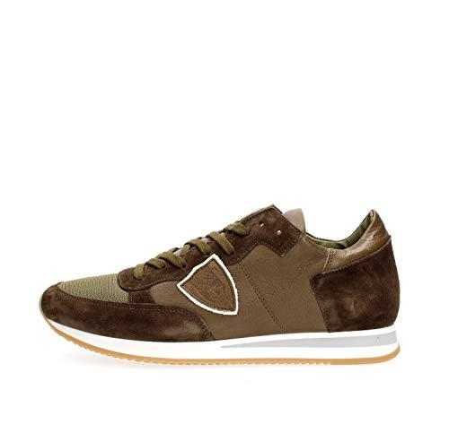 PHILIPPE MODEL PARIS TRLU 5008 Tropez Sneakers Homme Military 41