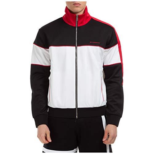 Givenchy Herren Sweatshirt mit Zip Bianco XS