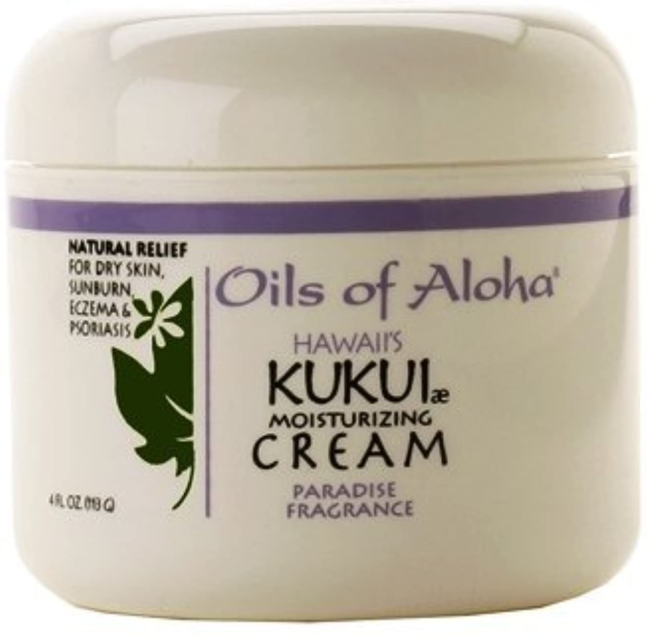 Hawaiian Value Pack Kukui Nut Oil Of Aloha Cream Paradise Fragrance 3 Jars 4 oz. each by Oils of Aloha