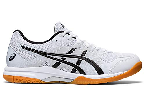 ASICS Men's Gel-Furtherup Volleyball Shoes, 11M, White/Black