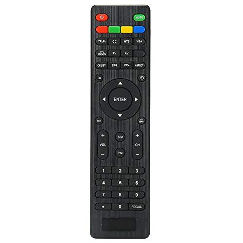 Socobeta Reemplazo de Control Remoto de TV Controlador de televisión de Control Remoto inalámbrico Universal Compatible con RMT-17 LD-2480 / LD-3280 / VR-2218 / VR-3215 TV
