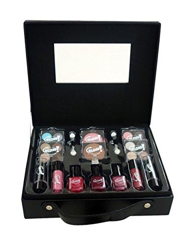 Gloss Mallette de Maquillage Fashion Week Noir 27 Pièces, Coffret Cadeau-Coffret Maquillage