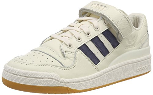 adidas Forum Lo, Scarpe da Fitness Bambino, Bianco (Blatiz/Azutra / Gum1 000), 36 EU