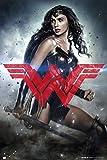 GB Eye, Batman vs Superman, Wonder Woman nur, Maxi Poster,