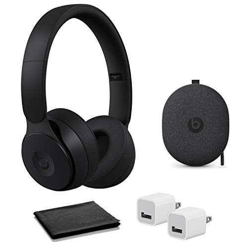 Beats Solo Pro Wireless Noise Cancelling Headphones - Black with USB Adapter