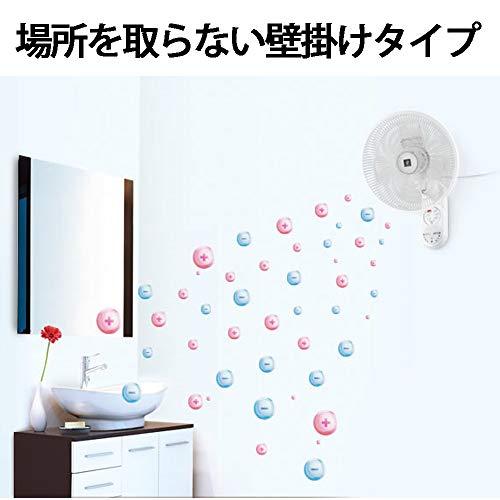 シャープ扇風機壁掛けプラズマクラスターリモコン付ホワイトPJ-J3AK-W