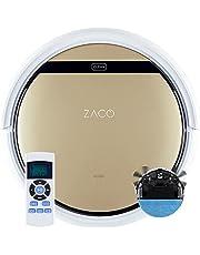 Zaco - ILIFE V5s Pro Robot Odkurzający, Plastik, 22 W, 300 l, Beżowy/Biały
