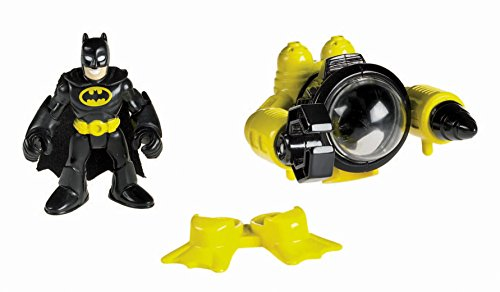 Fisher Price Imaginext DC Super Friends Figures Batman And Sub