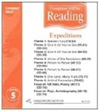 Houghton Mifflin Reading: Anthology Audio CD Grade 5