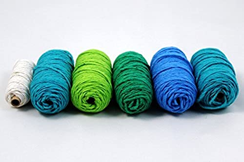 Harrisville Designs pegLoom & LapLoom Yarn Refill Pack - Ocean by Harrisville Designs