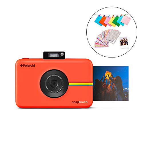 Polaroid SNAP Touch 2.0 – 13MP Portable Instant Print Digital Photo Camera w/ Built-In Touchscreen Display, Red
