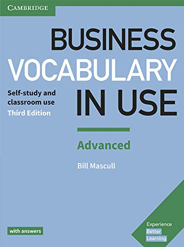 Business vocabulary in use: advanced - book with answers 3rd edition