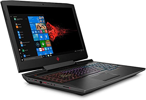 HP Omen 17-an101na 17.3' FullHD IPS 144Hz Laptop Intel Core i7 8750H, Nvidia GeForce GTX 1060 6GB, 16GB DDR4, 1TB SSD, Wi-Fi 5 [11ac] & Bluetooth 4.2, Windows 10 Pro - UK Keyboard Layout – Plain Box