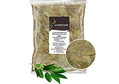 Minotaur Spices | Foglie di Alloro secche | 2 x 500g (1 kg)