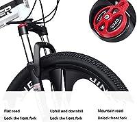 ストリームライン スチール製フレーム 子供用自転車 冒険を探して若いライダーのための滑らかなまたは不整地24インチバイク、21スピードツイストシフターと、前後のブレーキと、優秀なギフトに乗ります (Color : 30 speed, Size : 24inch)