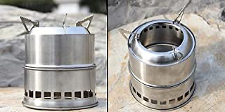 Camping Stoves Outdoor Wood Stove Backpacking Portable Survival Wood Burning New