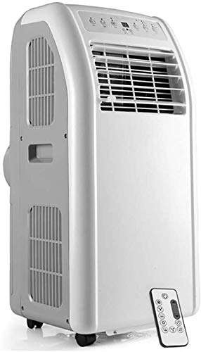 Portable Air Conditioner, 4-in-1(Fan/heater/dehumidifier/air conditioner) Unit with 2 Fan Speeds, Remote Control, With air hose,Smart without drain Huangwei7210
