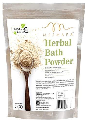Mesmara Herbal Bath Powder (Sunnipindi/Nalangu Mavu/Ubtan Pack) 500g