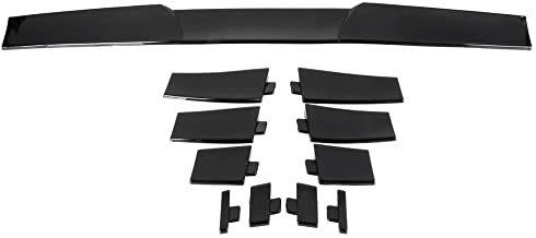 SCITOO Black Universal Replacement fit for Top Roof Spoiler Wing Adjustable Ford Lincoln Chevy Chrysler Mazda Toyota Mercury Series 34 Inch x 2.75 Inch