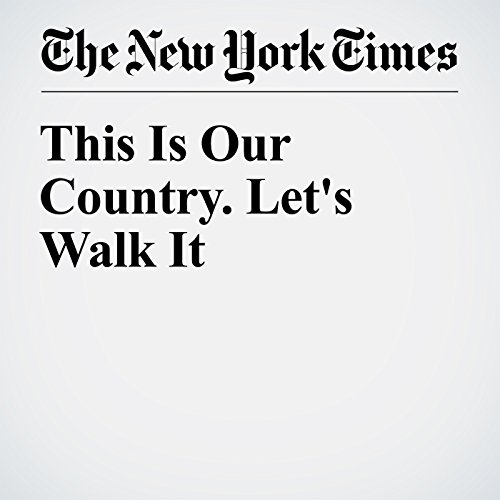 This Is Our Country. Let's Walk It cover art
