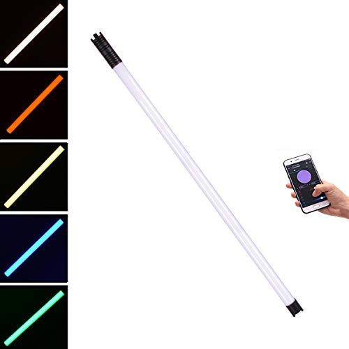 Chameleon Rgb Handheld Led Tube Light 4ft, DF DIGITALFOTO Photography Lighting for Video Recording Tube Wand Stick Lights for YouTube, 2800-9990K
