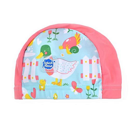 Splash About - Gorro de natación para bebé, diseño de Patos pequeños, 0-18 Meses