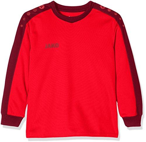 JAKO Kinder TW-Trikot Striker Torwarttrikot, Rot (Rot/Maroon), 128