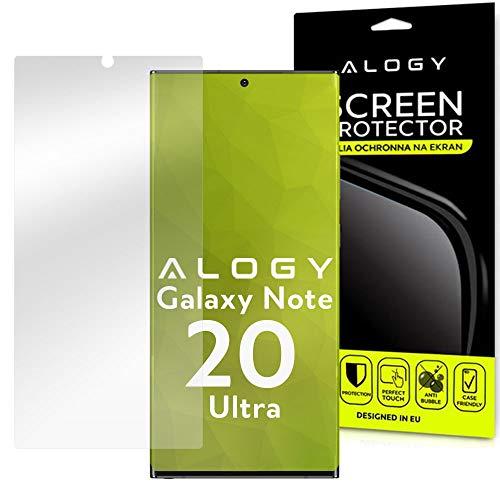 Alogy Hydrogel - Protector de pantalla 3D para Samsung Galaxy Note 20 Ultra Display Protection
