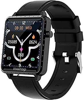 MAXTOP Fitness Activity Tracker with Heart Rate Monitor Smart Watch