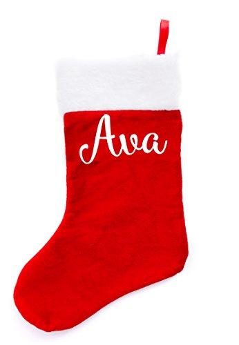Boxer Gifts AVA Weihnachts Strümpfe, Samt, Mehrfarbig, 38x 16x 1cm