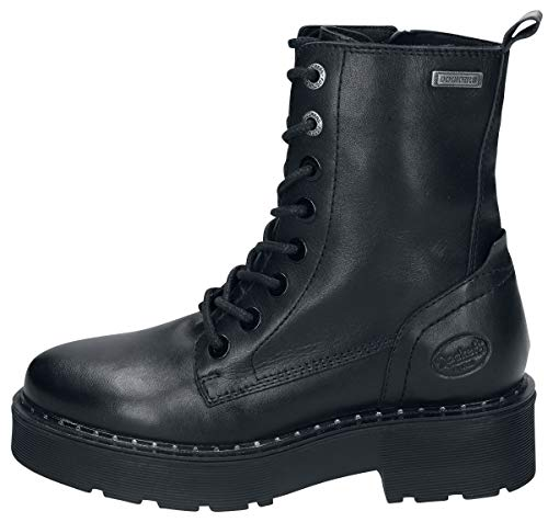 Dockers by Gerli Damen 45AT201 Combat Boots, Schwarz (Schwarz 100), 42 EU