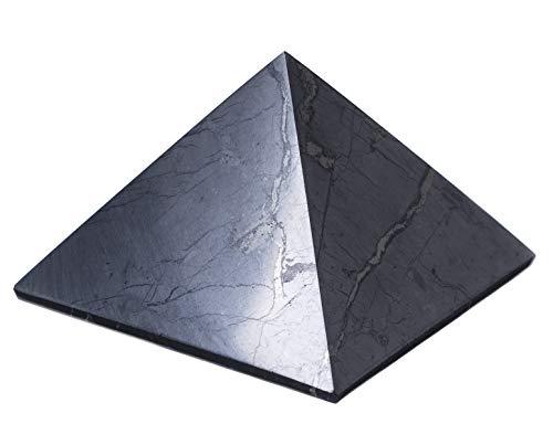 Shungite pyramid polished 100x100mm by Keled_R