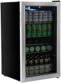 EdgeStar BWC121SS 19 Inch Wide 105 Can Capacity Extreme Cool Beverage Center