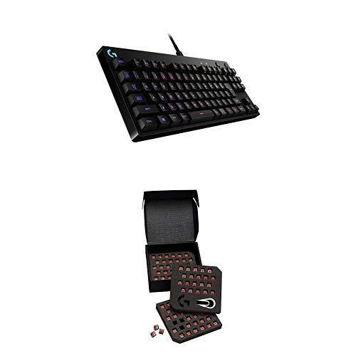 Logicool G PRO X ゲーミングキーボード テンキーレス G-PKB-002 ブラック クリッキースイッチ 日本語配列 ...