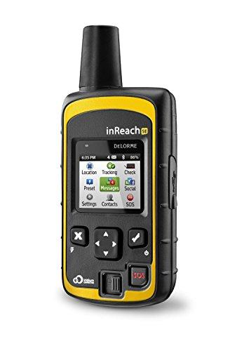 DeLorme InReach SE GPS Iridium Satellitennavigation, SOS-Notruf und Zwei-Wege-EMail/SMS-Kommunikation
